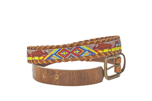 Buffalo camp belt side