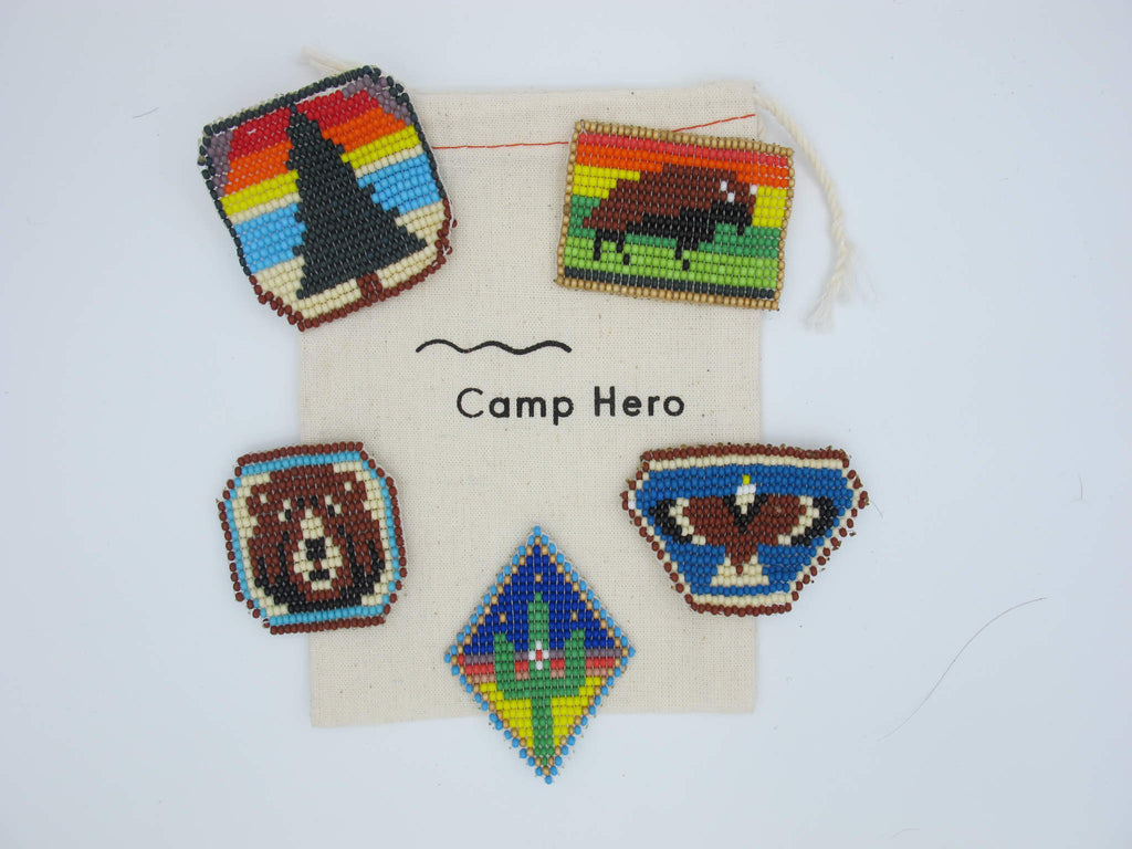 Camp Badges - Wilderness Collection - Set of 5