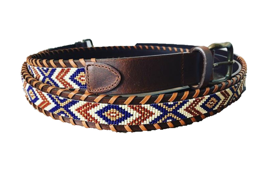 Navy/Neutral Macko Belt