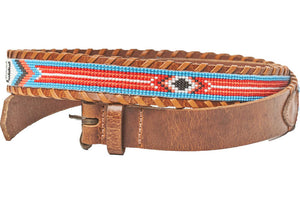 Malibu beaded destination belt side