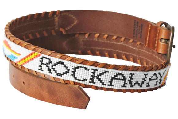 Rockaway beaded Camp belt close