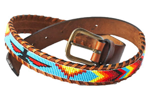 Skybird Multi beaded Camp belt close