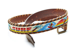 Surf beaded Camp belt close