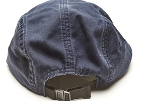 camp leader cap navy back