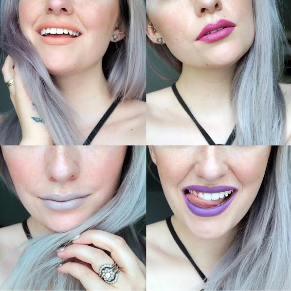 jkissamakeup in life is peachy, mugwort, purple hex & naked witch. Jkissa makeup