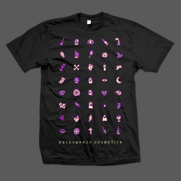 Necromancy Icons Tshirt