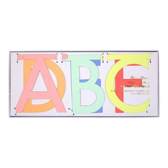 Multi Colour Letter Garland Kit