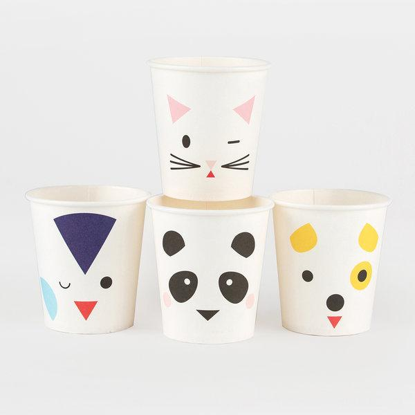 My Little Day Animal Faces Cup