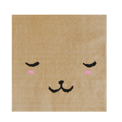 Bear Face Party Napkins