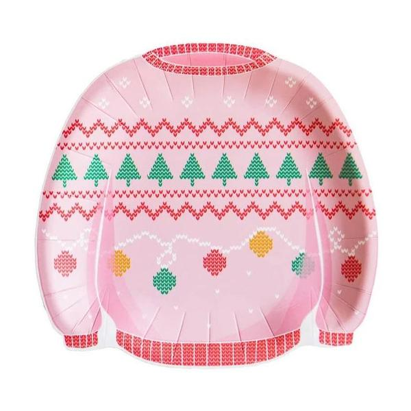 Ugly Sweater Plate
