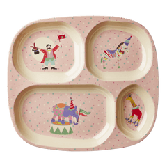 Circus Girls 4 Room Plate