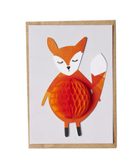 Finley Fox Pop Up Card