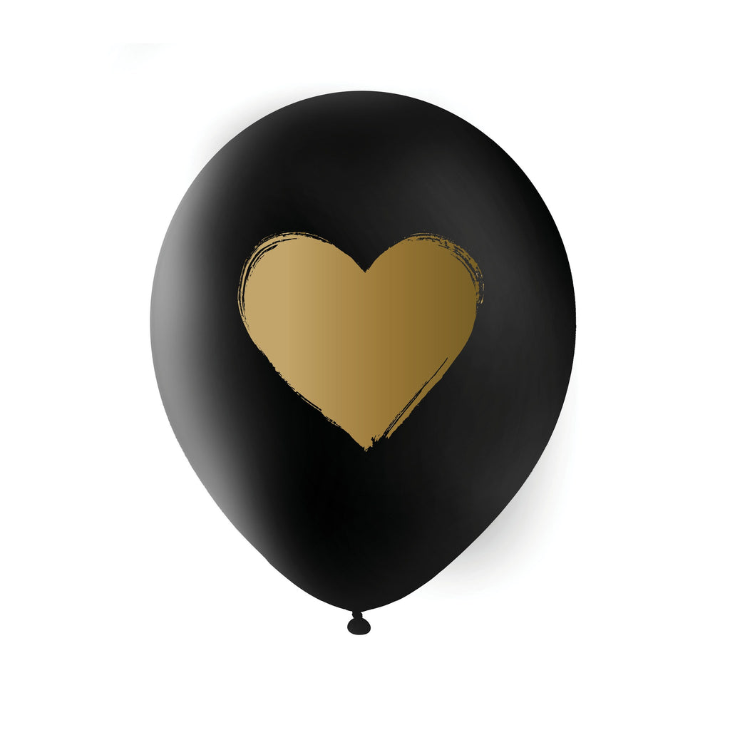 Brush Heart Balloon
