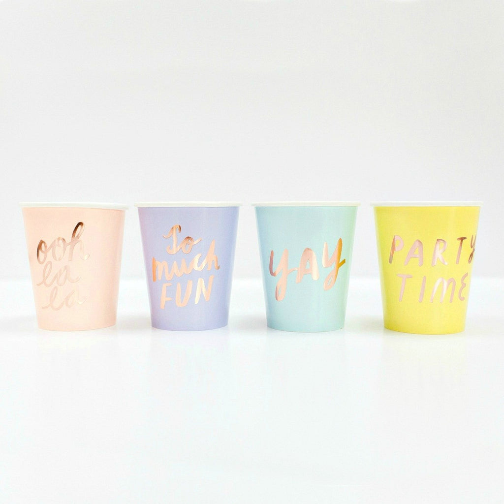 4 Colors + Phrases Cup