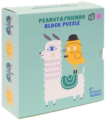 Peanut & Friends Block Puzzle