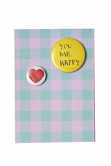 Happy Badge Card