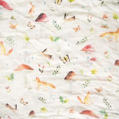 Woodland Muslin Swaddle