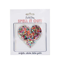 Confetti Heart Sticker