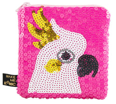 Cockatoo Sequin Purse