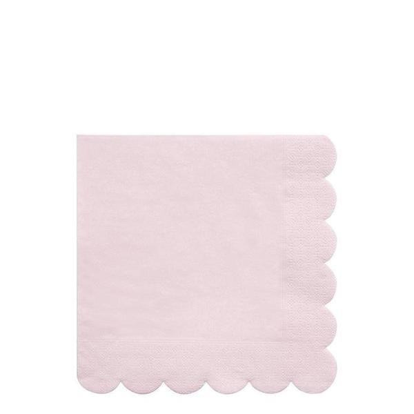 Small Scalloped Napkin