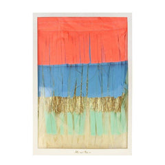 Colorful Fringe Large Garland