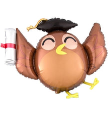Graduation Owl Balloon