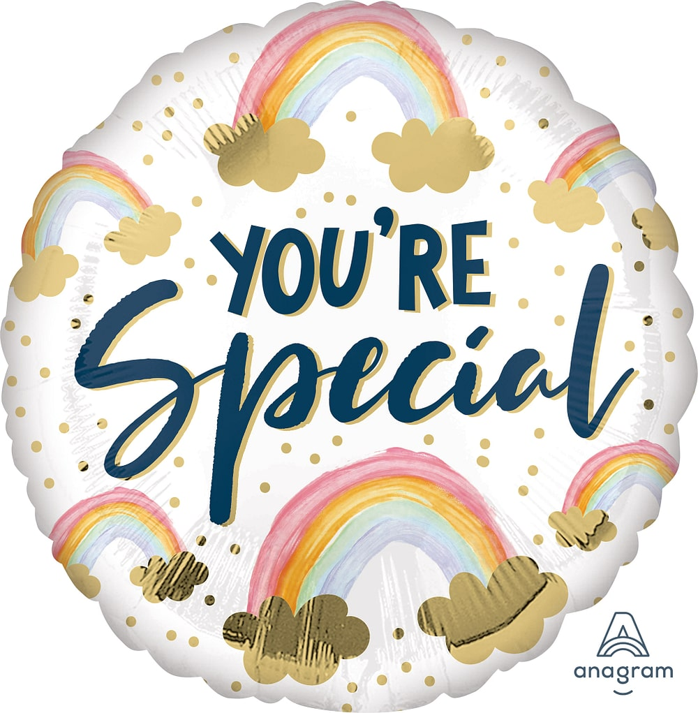 You're Special Painted Rainbows Balloon