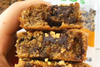 @athleticavocado's Flourless Peanut Butter Banana Blondies
