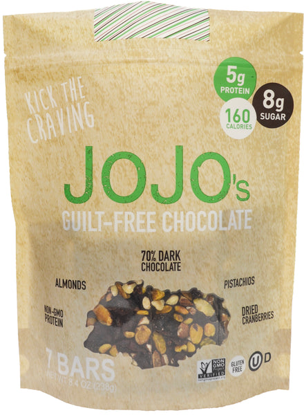 JOJO's 70% Dark Chocolate Bark Autoship