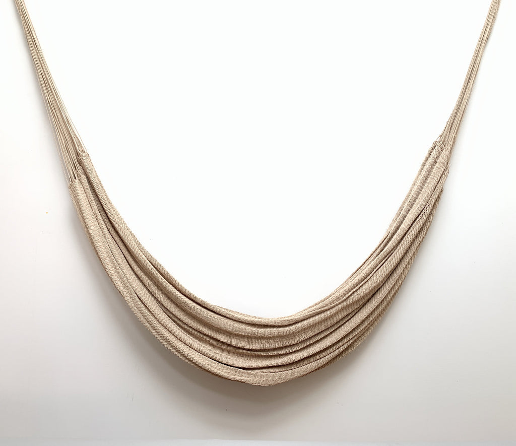 Fine Buriti Fiber Hammock by Warao People