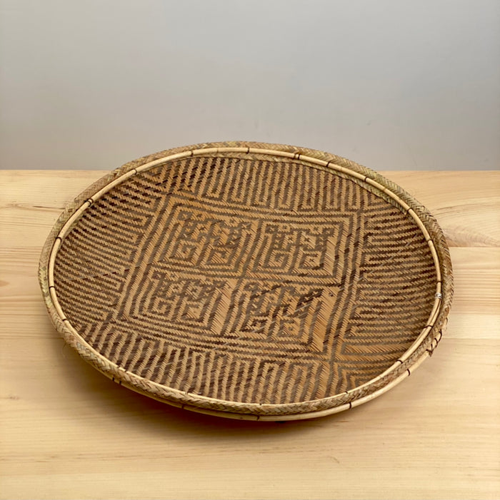 Sanuma Monkey Pattern Basket