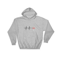 Heart Hooded Sweatshirt