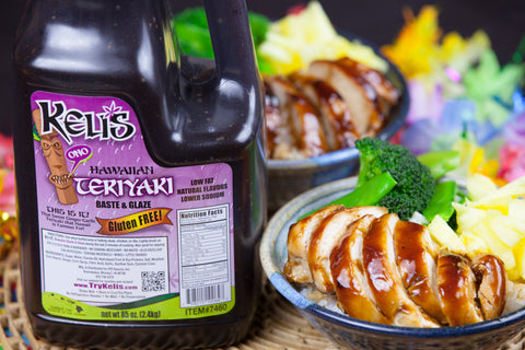 Kelis Hawaiian Ginger Garlic Teriyaki Glaze 85 oz.