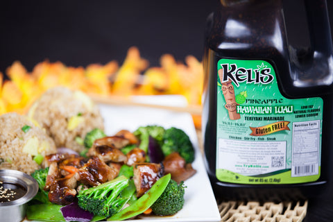 Pineapple Hawaiian Luau Teriyaki Marinade 85 oz.