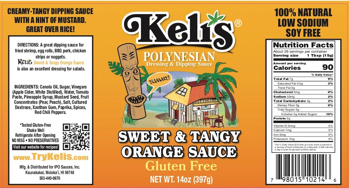 Polynesian Sweet & Tangy Orange Sauce 15 oz
