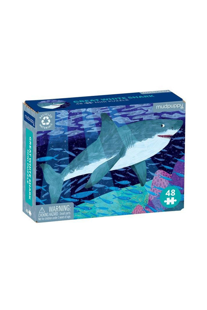 Mini Great White Shark 48 piece