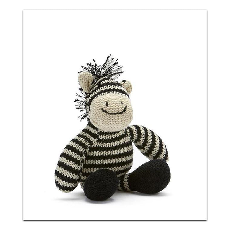 Load image into Gallery viewer, ZAC THE ZEBRA RATTLE