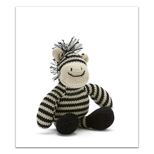 Load image into Gallery viewer, Nana Huchy - Rattle - Zac The Zebra