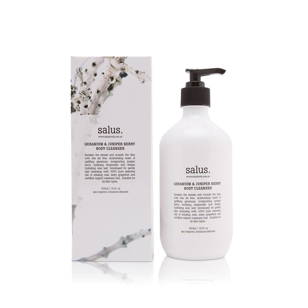 Load image into Gallery viewer, Salus - Geranium & Juniper Berry Body Wash