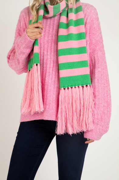 Betty Basics - Lunar Scarf - Floss Stripe