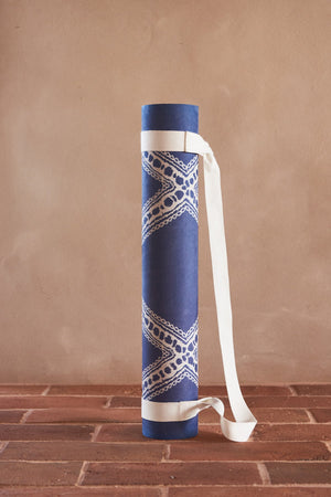 Load image into Gallery viewer, Boujad (Navy) Yoga Mat