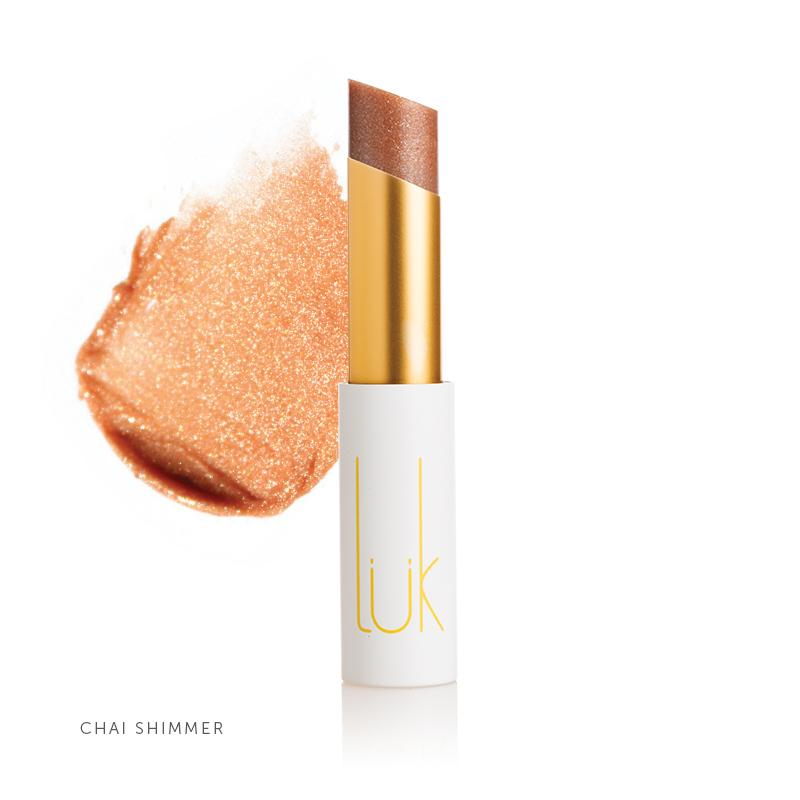 100% Natural Lip Nourish Chai Shimmer