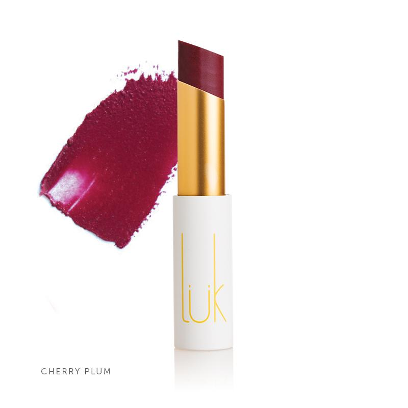 100% Natural Lip Nourish Cherry Plum