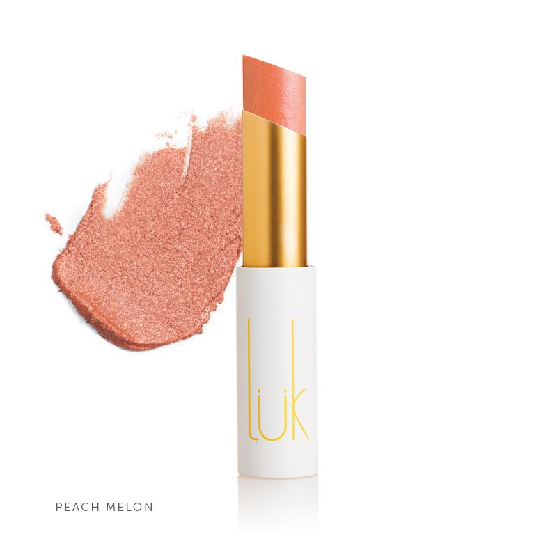 100% Natural Lip Nourish Peach Melon