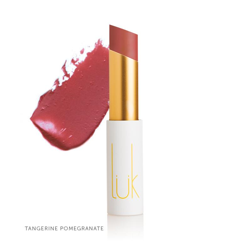 100% Natural Lip Nourish Tangerine Pomegranate