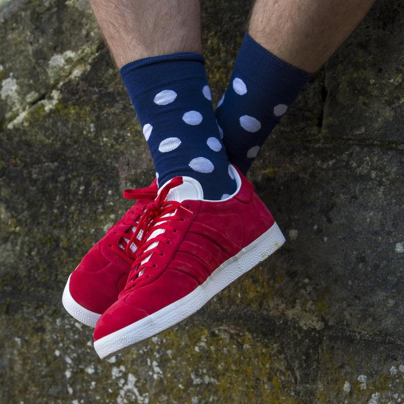 ORTC - Socks - Navy / White Spot