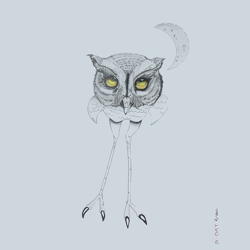 Sunday Love Wall Art -OWL