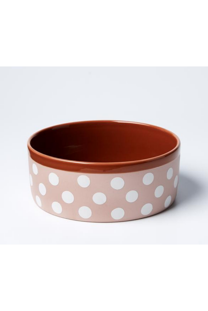 Load image into Gallery viewer, Jones & Co - Big Woof Bowl - Pink Spot