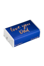 Love you Dad - Navy Rose Gold