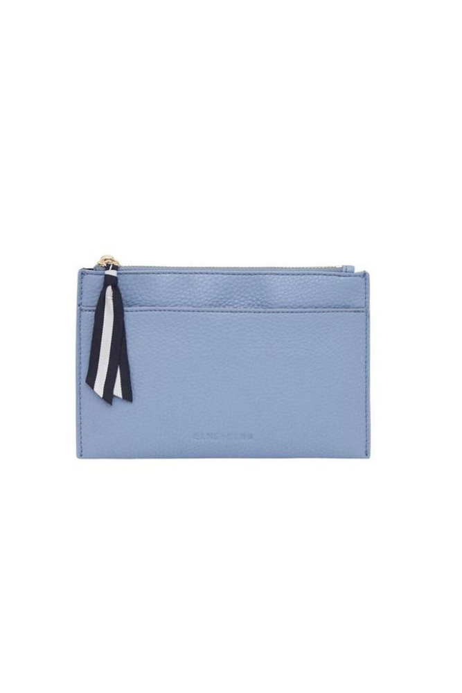 Elms+King - New York Coin Purse - Blue Bell